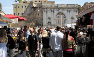 Trastevere markets